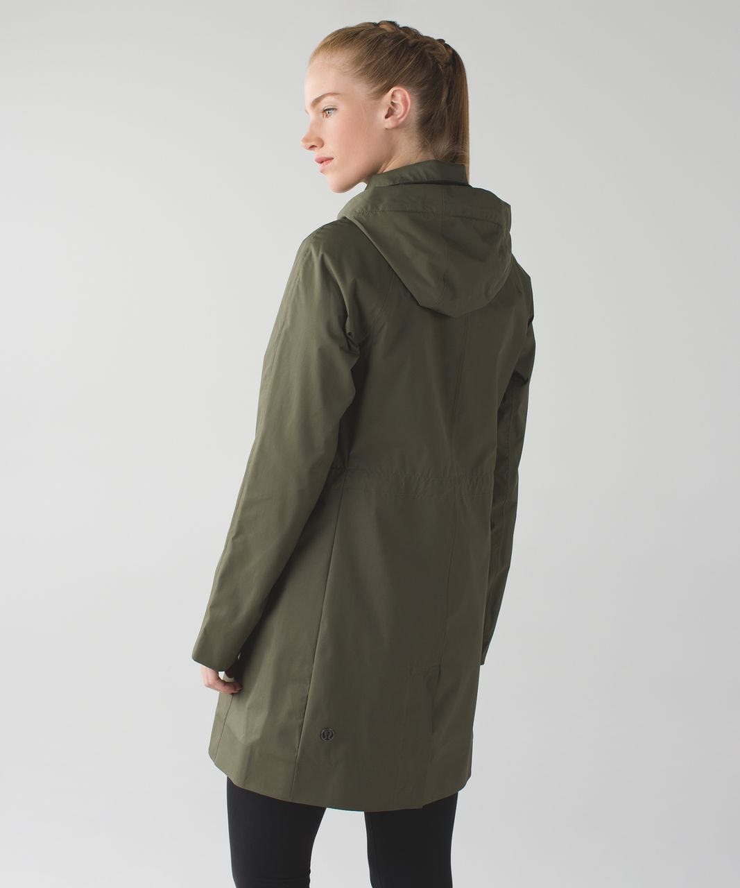 Lululemon Rain On Jacket - Fatigue Green - lulu fanatics