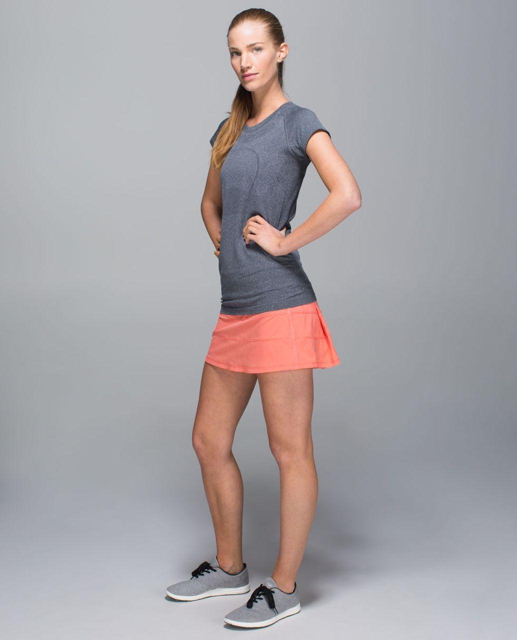Lululemon Pace Rival Skirt II *4-way Stretch (Regular) - Plum Peach / Blushed Illusion Multi