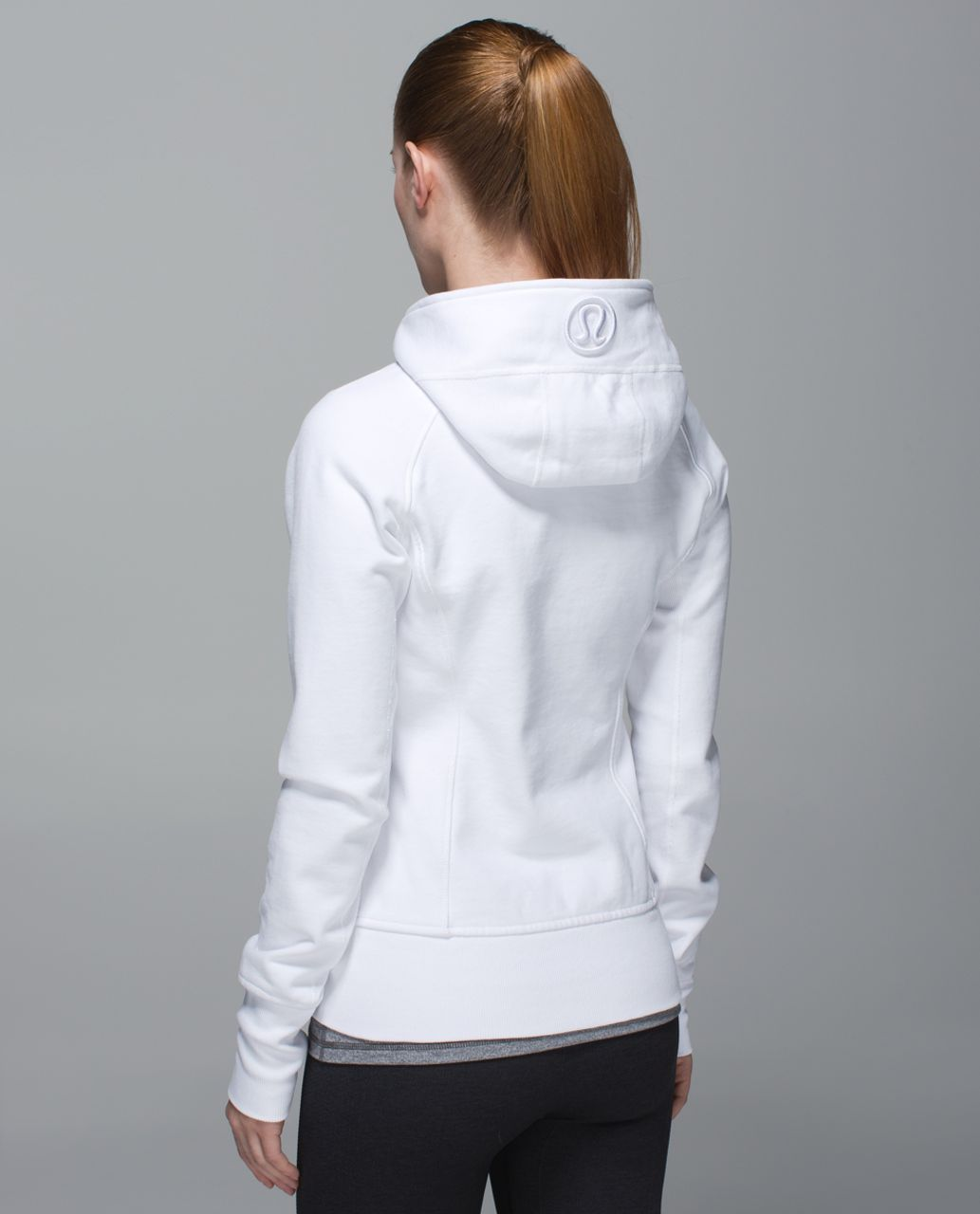 Lululemon Scuba Hoodie II - White