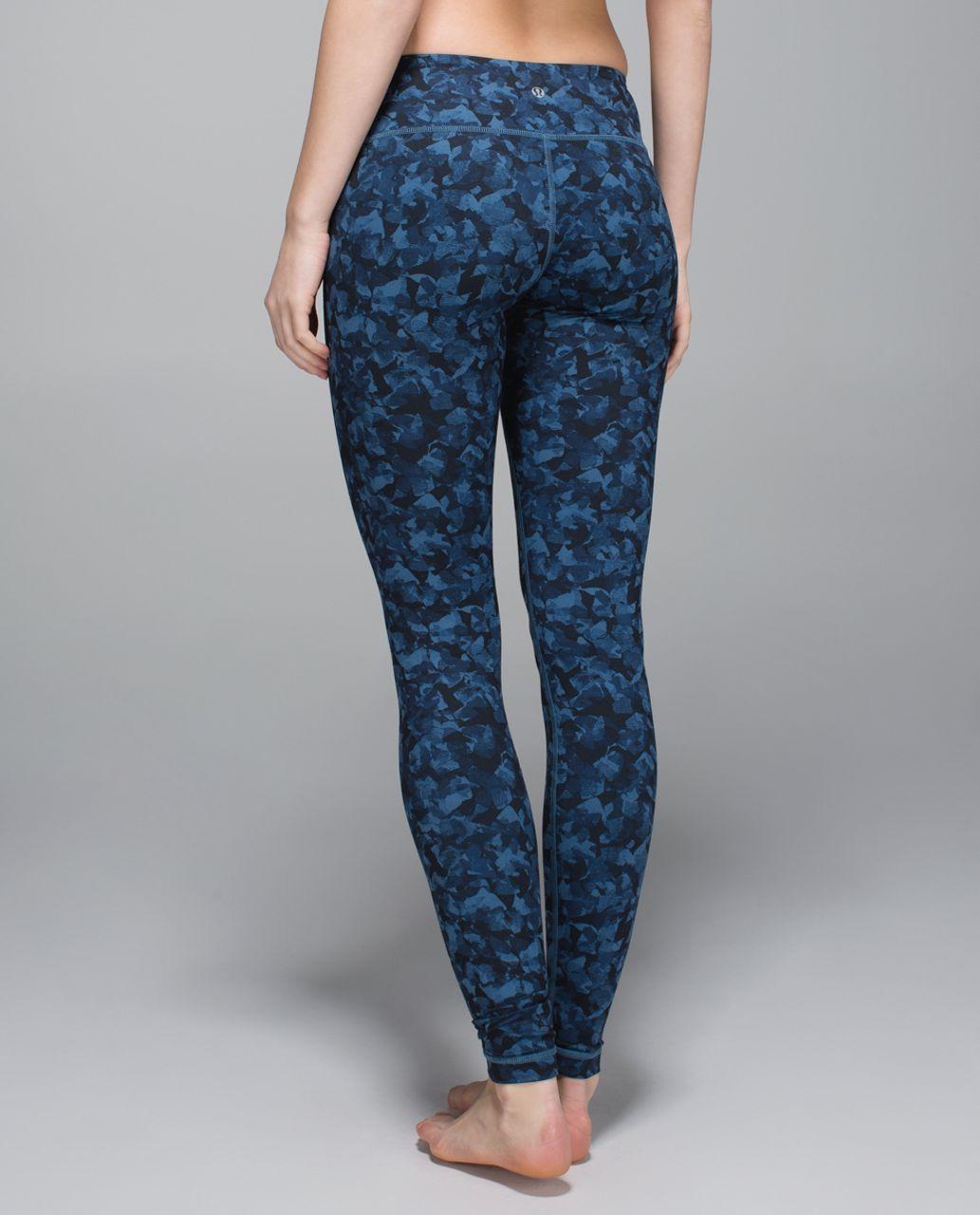 Lululemon Wunder Under Pant *Full-On Luon - Mystic Jungle Hawk Blue Harbor Blue / Hawk Blue