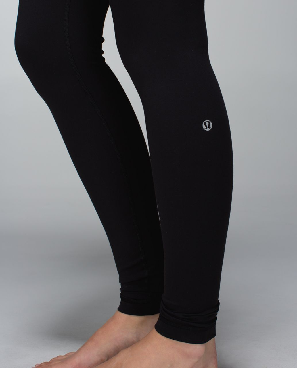 Lululemon Wunder Under Pant *Full-On Luon - Black / Fa14 Quilt 4