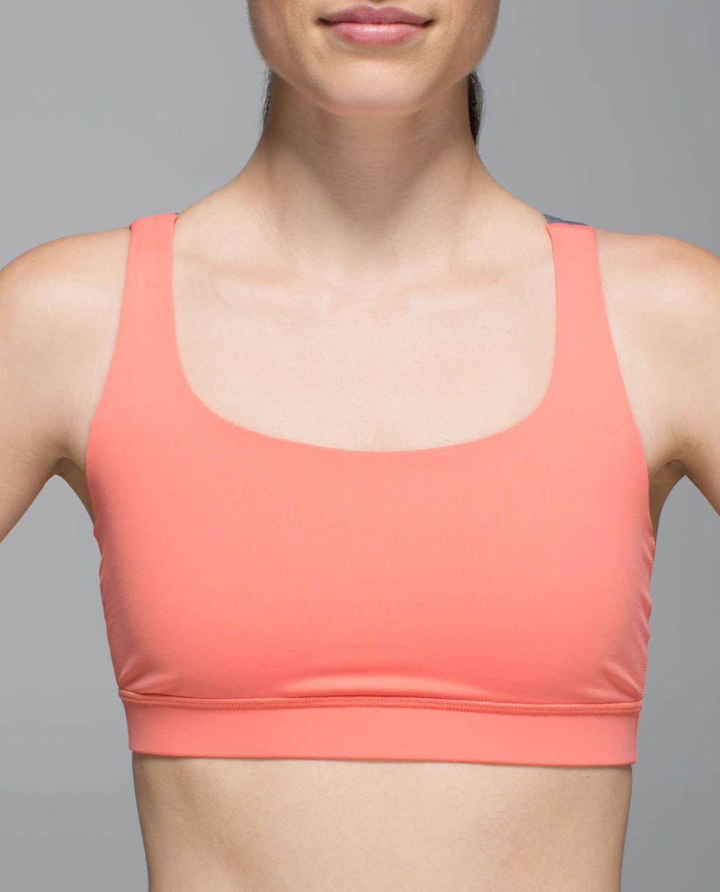 Lululemon Energy Bra - Plum Peach / Heathered Slate