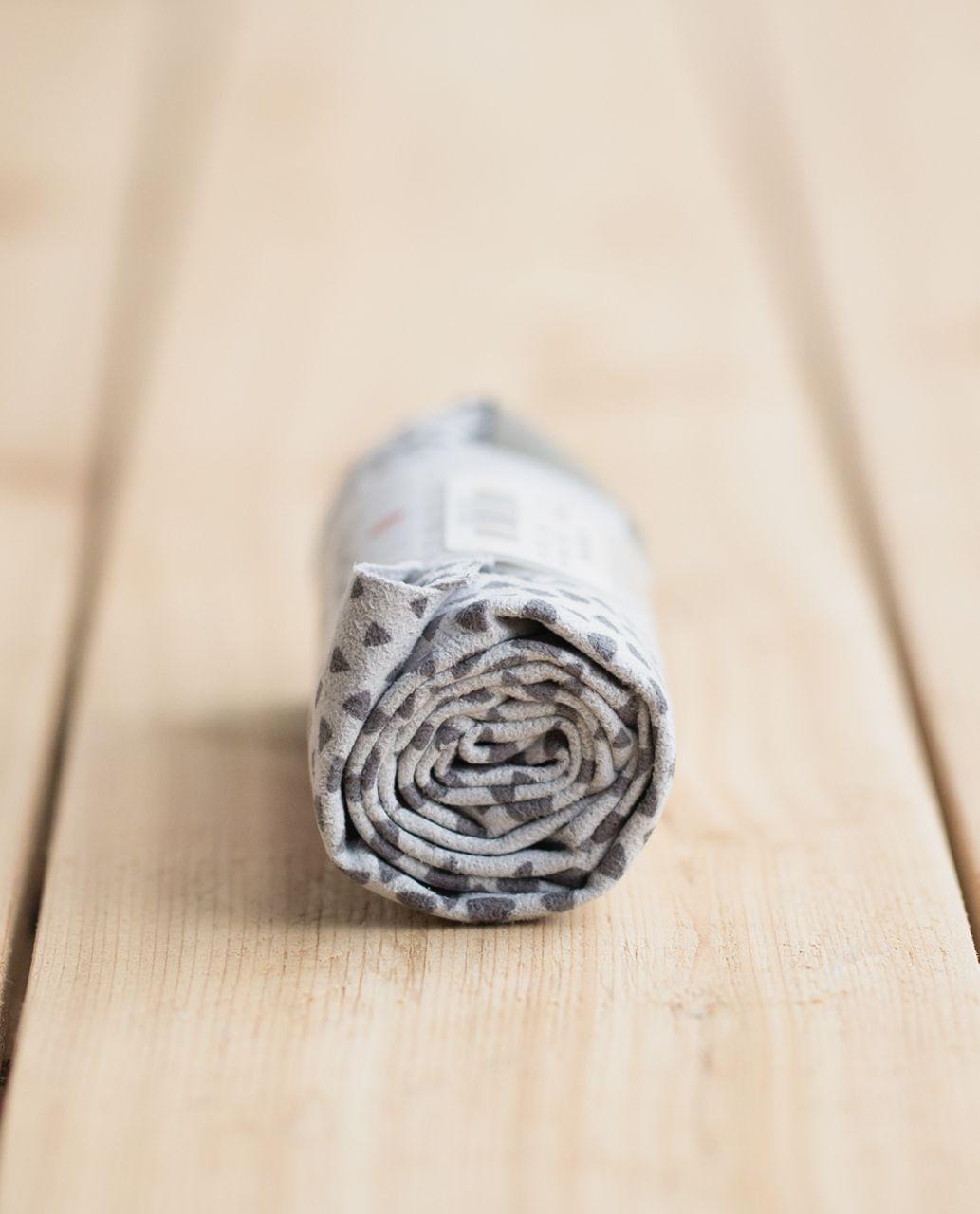 Lululemon The (Small) Towel - Hyper Diamond Camo Silver Spoon Slate