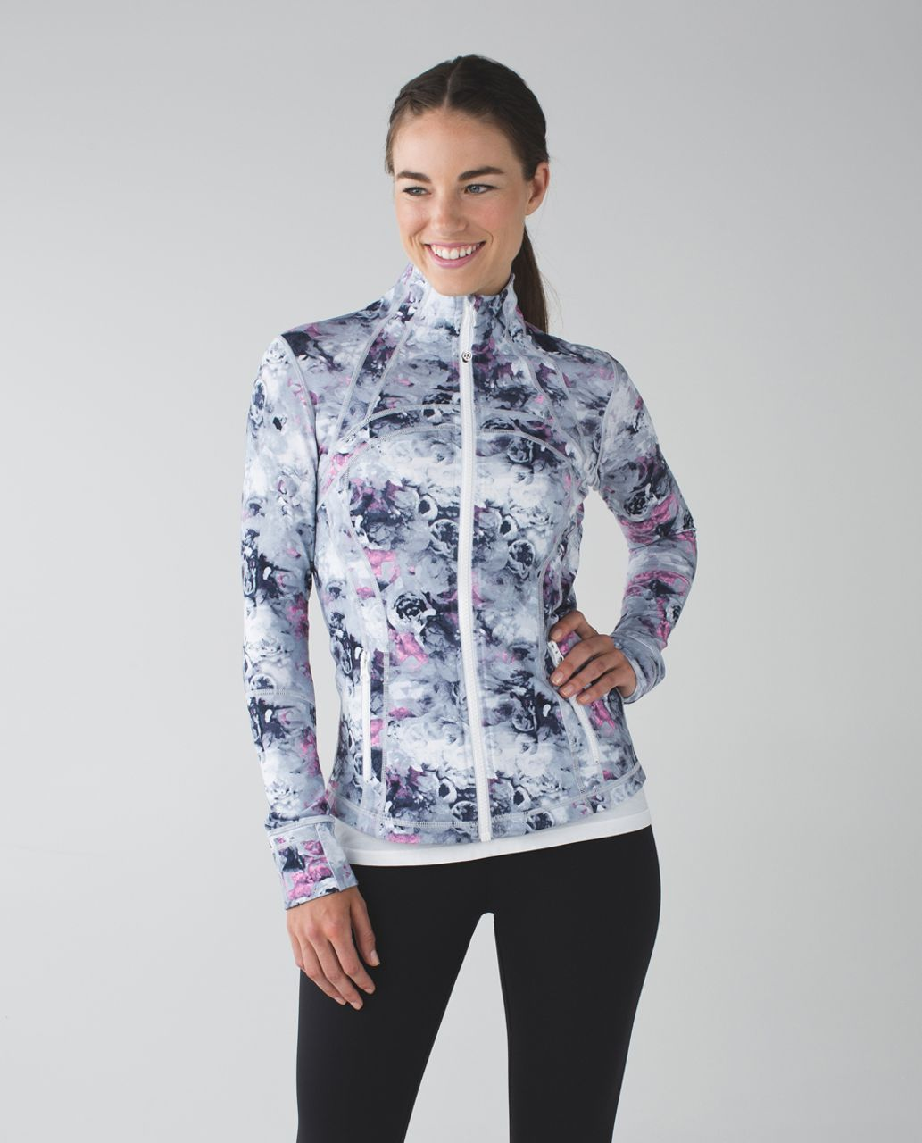 Lululemon Define Jacket - Moody Mirage White Deep Navy