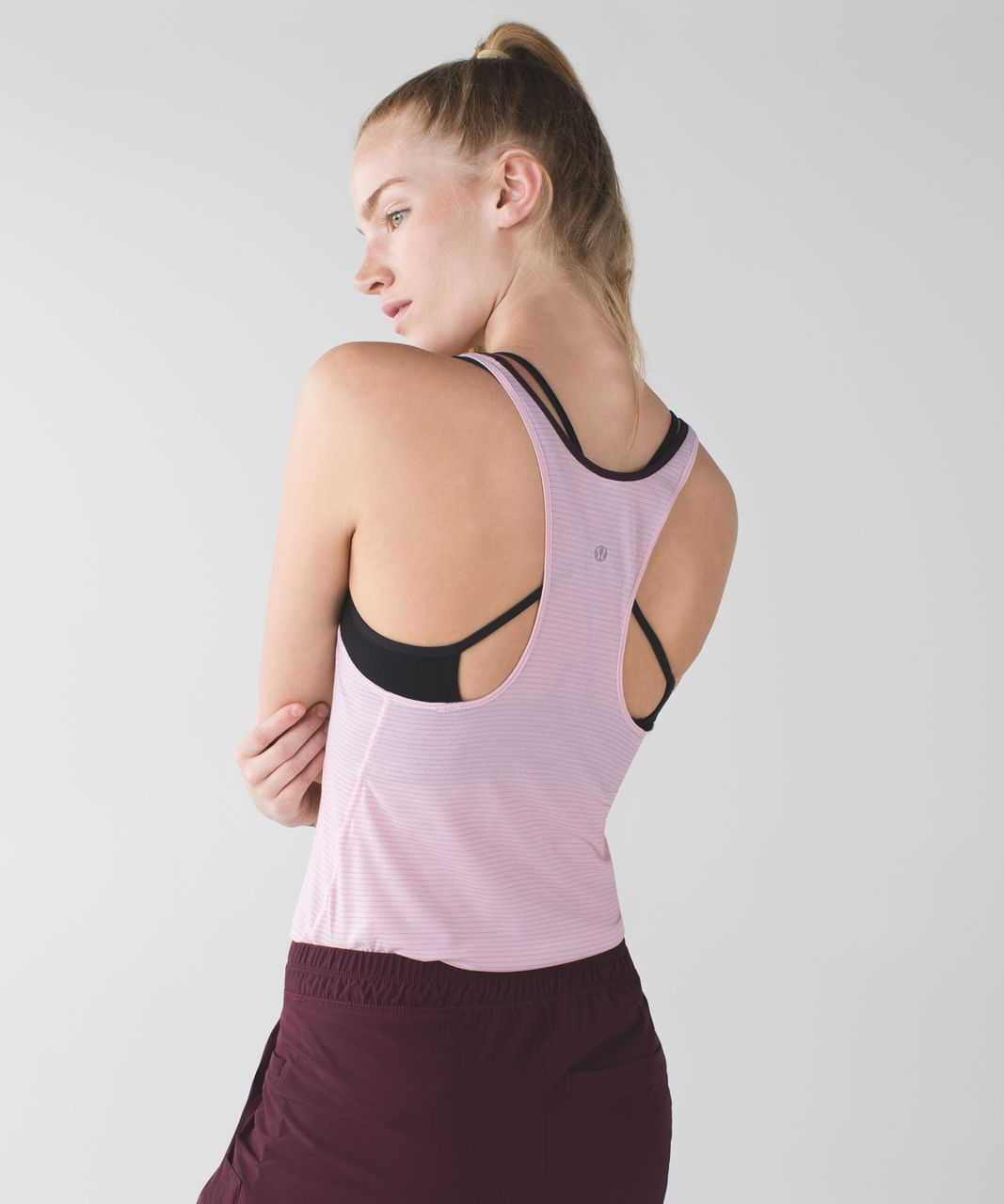 Lululemon What The Sport Singlet - Strawberry Milkshake