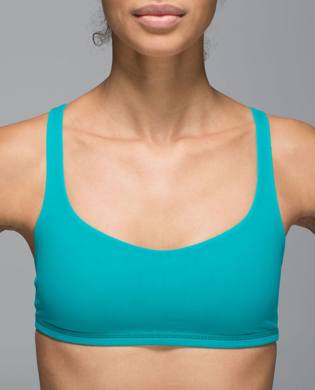 Lululemon Free To Be Bra - Blue Tropics / Clear Mint