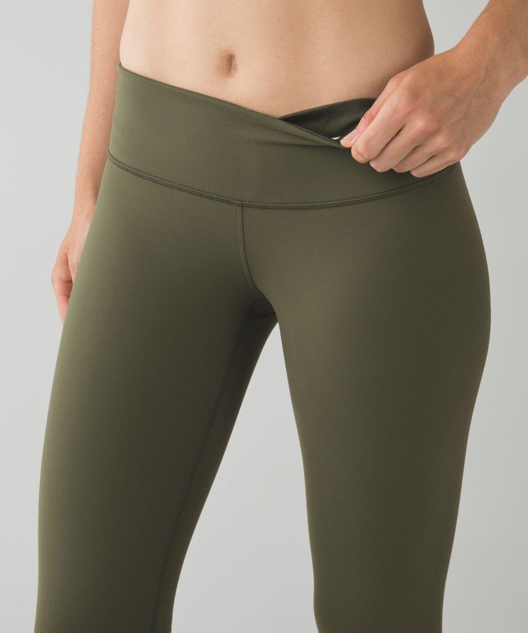 Lululemon Wunder Under Pant *Full-On Luon - Fatigue Green