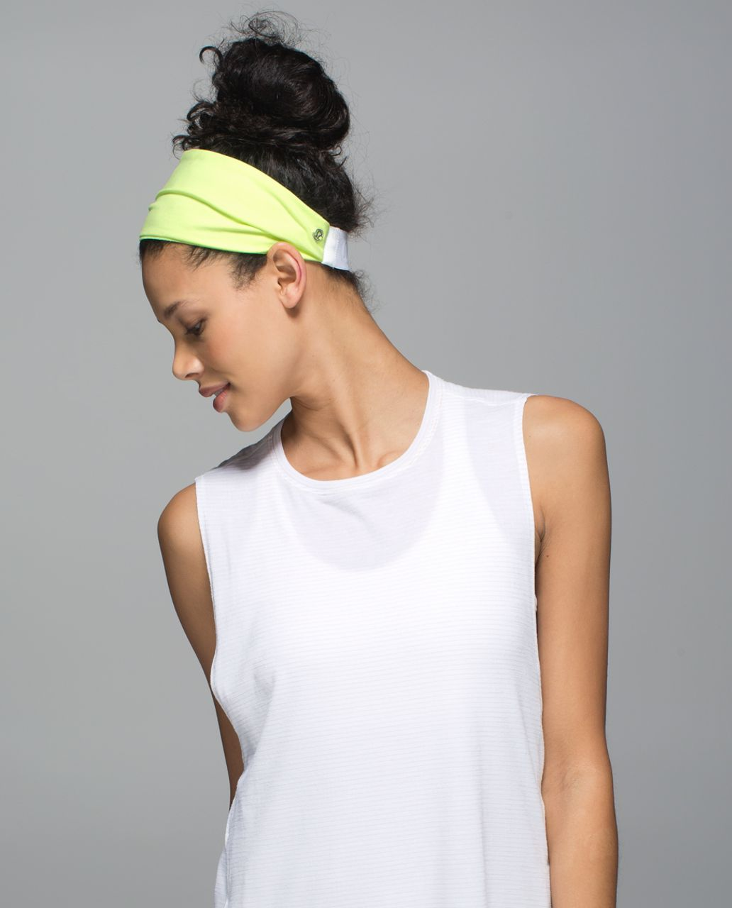 Lululemon Fringe Fighter Headband - Clear Mint / Heathered Clear Mint