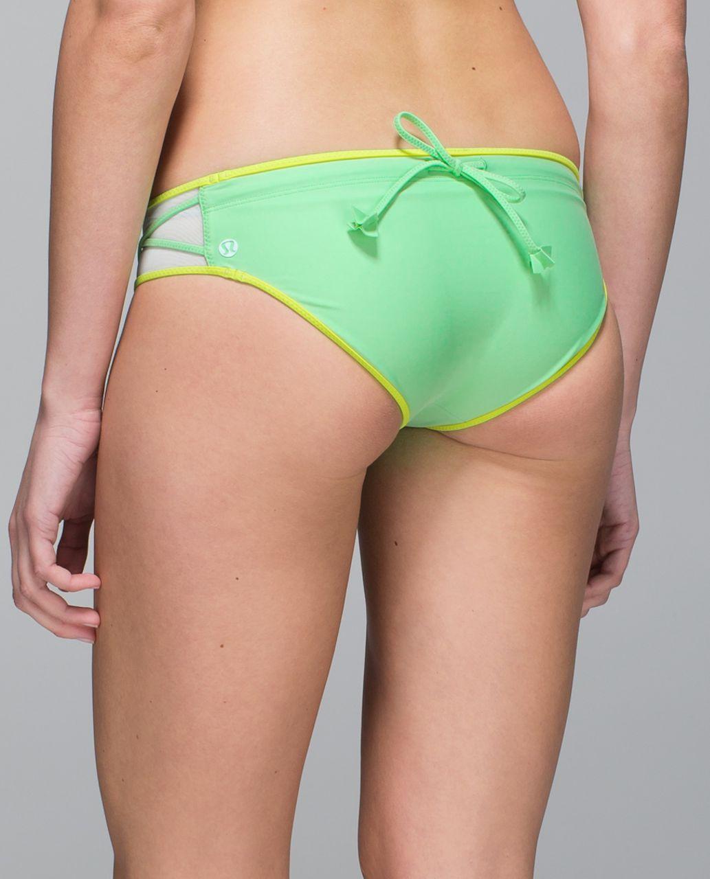 Lululemon Water:  Surf To Sand Hipster - Dragonfly / Lemon Lime