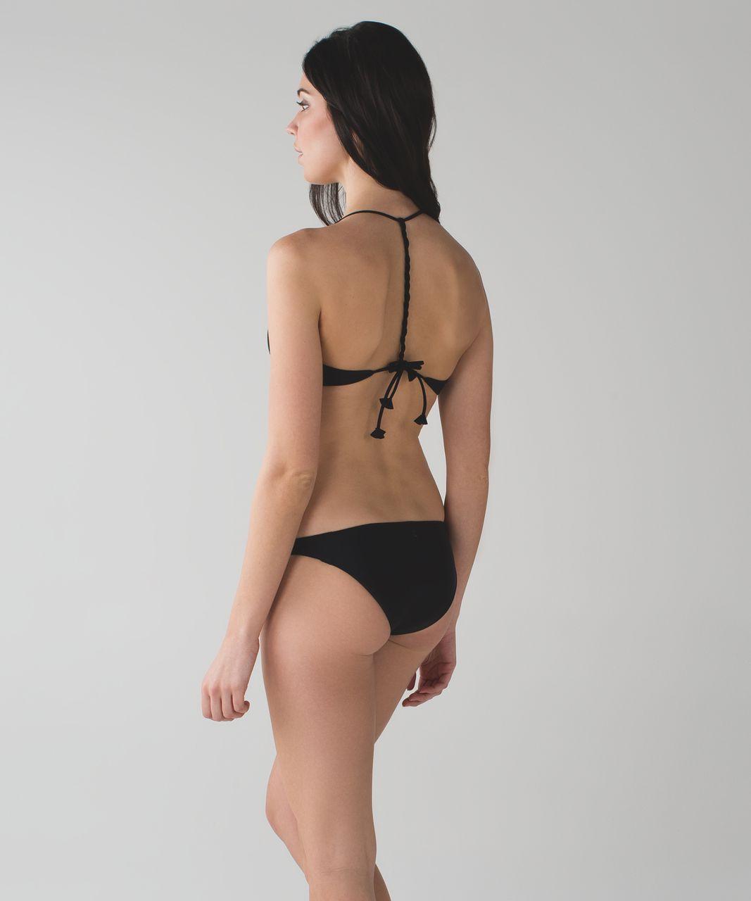 Lululemon Water:  Surf To Sand Bikini - Black / Harbor Blue