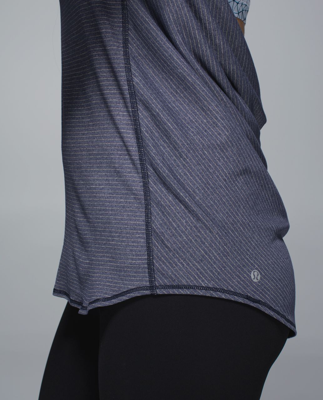 Lululemon Wild Tank - Heathered Deep Navy / Star Crushed Silver Fox Deep Navy