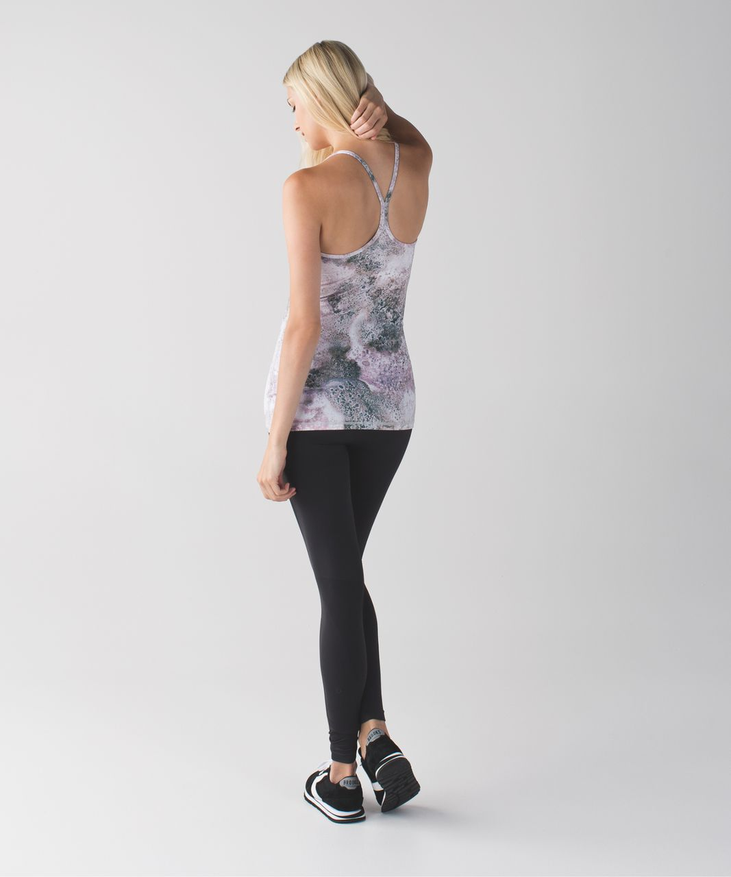 Lululemon Power Y Tank *Luon - Sugar Crush Multi