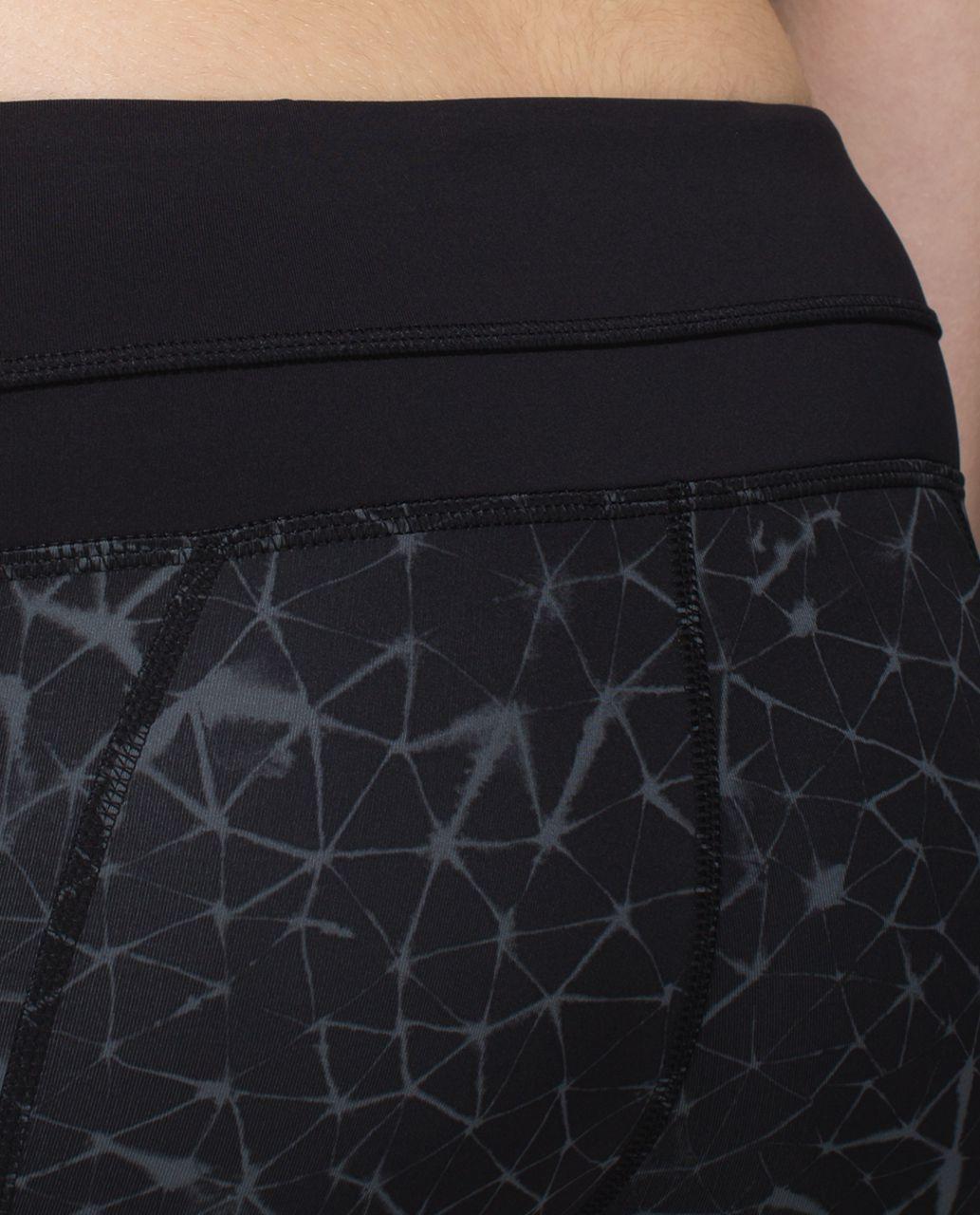 Lululemon Inspire Tight II *Full-On Luxtreme (Mesh) - Star Crushed Coal Black / Black