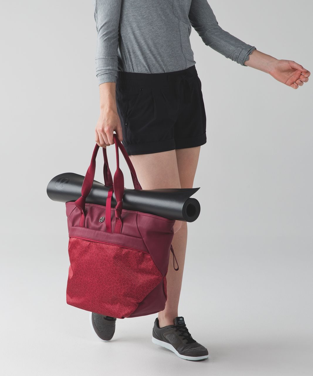 46d8a2ddaf Lululemon Everything Bag - Rosewood / Freckle Flower Fireside Red Rosewood