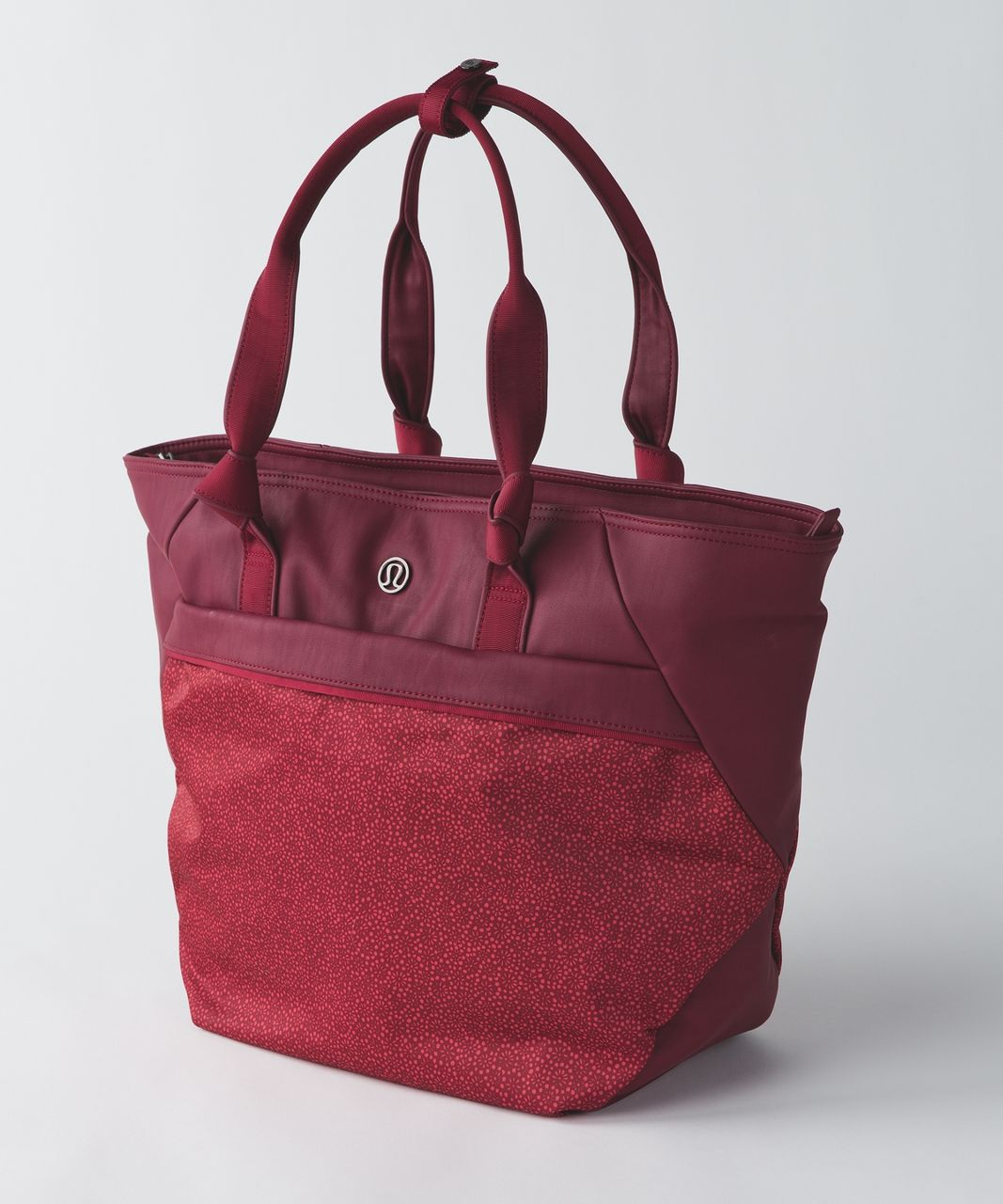0334d46aa0 Lululemon Everything Bag - Rosewood / Freckle Flower Fireside Red Rosewood  - lulu fanatics