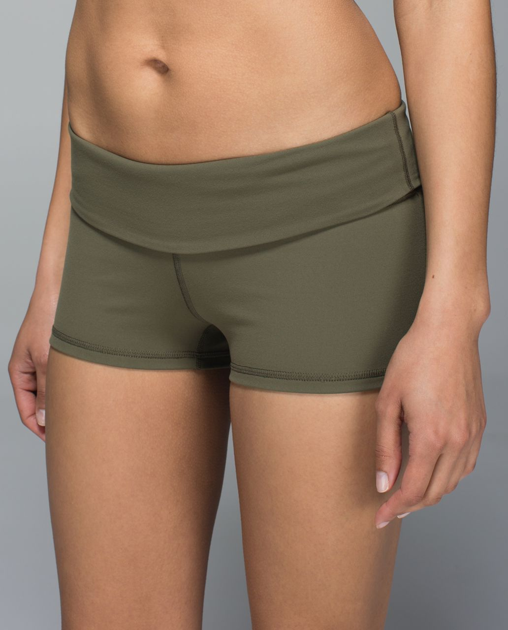 Lululemon Boogie Short *Full-On Luon (Roll Down) - Fatigue Green