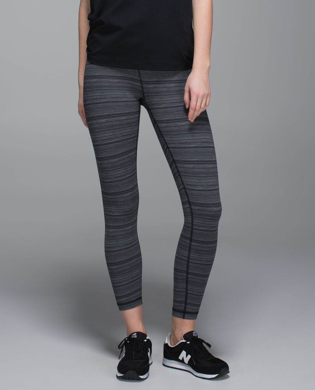 Lululemon High Times Pant *Luxtreme - Cyber Stripe Deep Coal Black