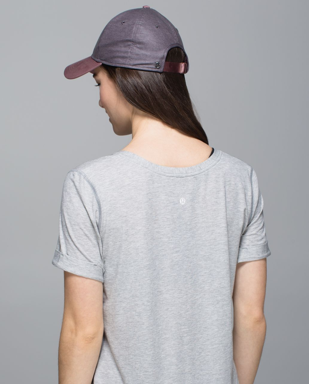 Lululemon Baller Hat - Heathered Black Cherry / Bark Berry
