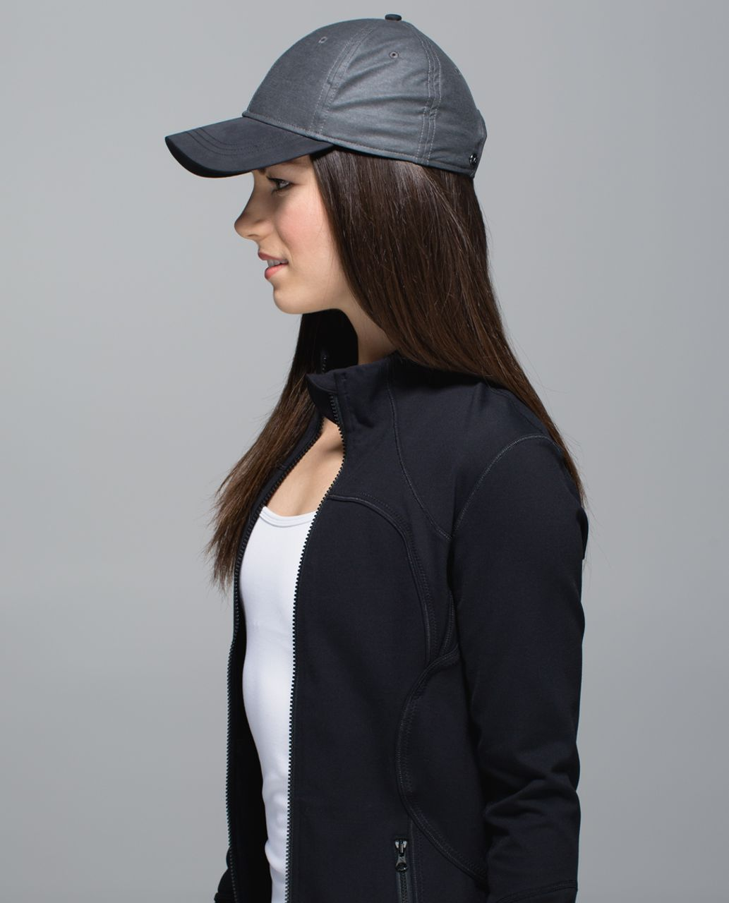 958996f3 Lululemon Baller Hat - Heathered Black / Black - lulu fanatics