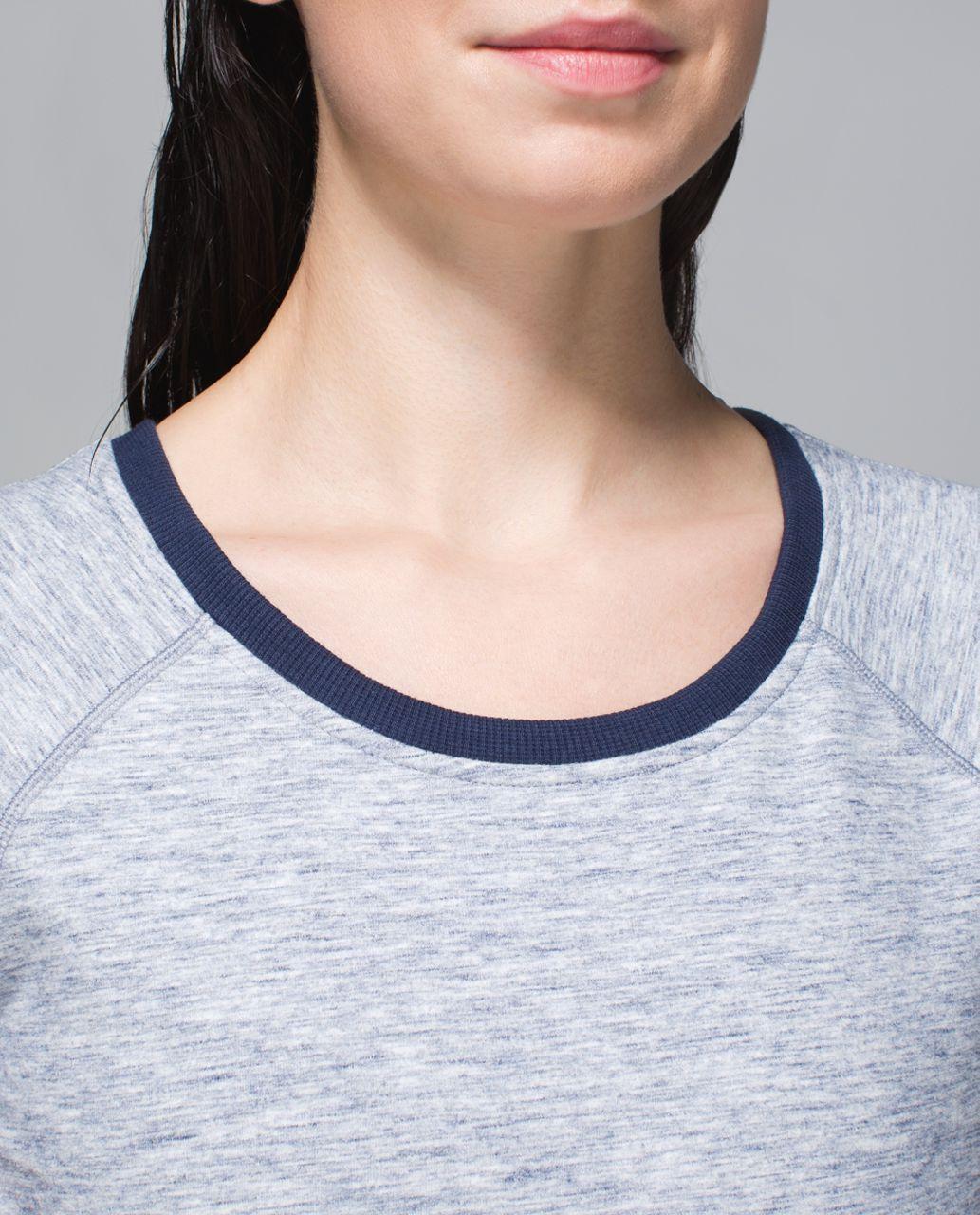 Lululemon Cut Above Dress - Heathered Space Dyed Gris / Deep Navy