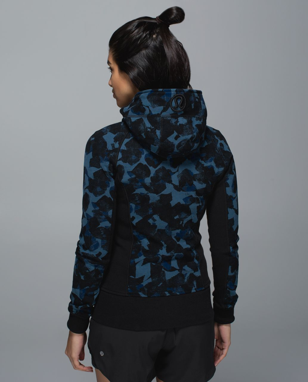 Lululemon Scuba Hoodie II - Jumbo Mystic Jungle Hawk Blue Harbor Blue