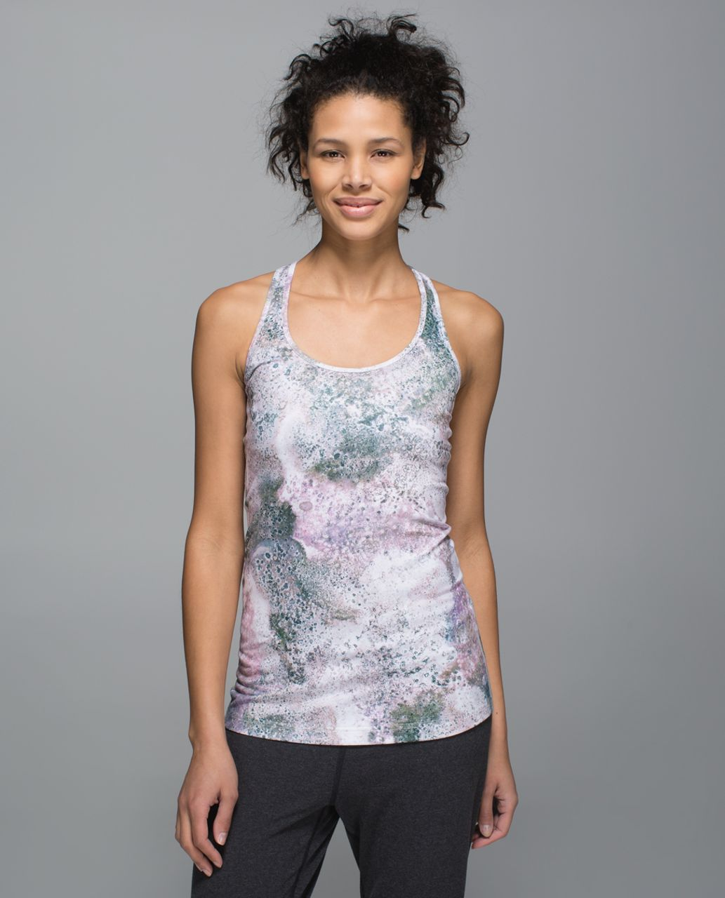 Lululemon Cool Racerback - Sugar Crush Multi