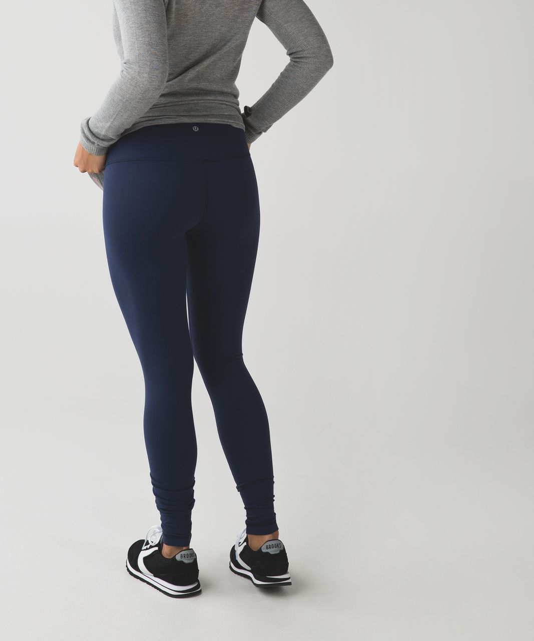 Lululemon Wunder Under Pant *Full-On Luon (Roll Down) - Deep Navy
