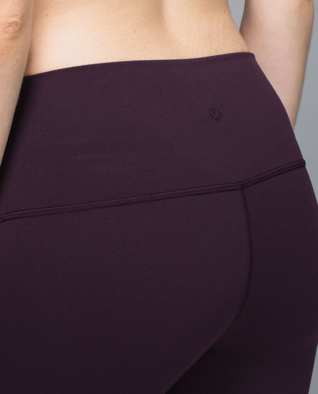 Lululemon High Times Pant (First Release) - Black Cherry