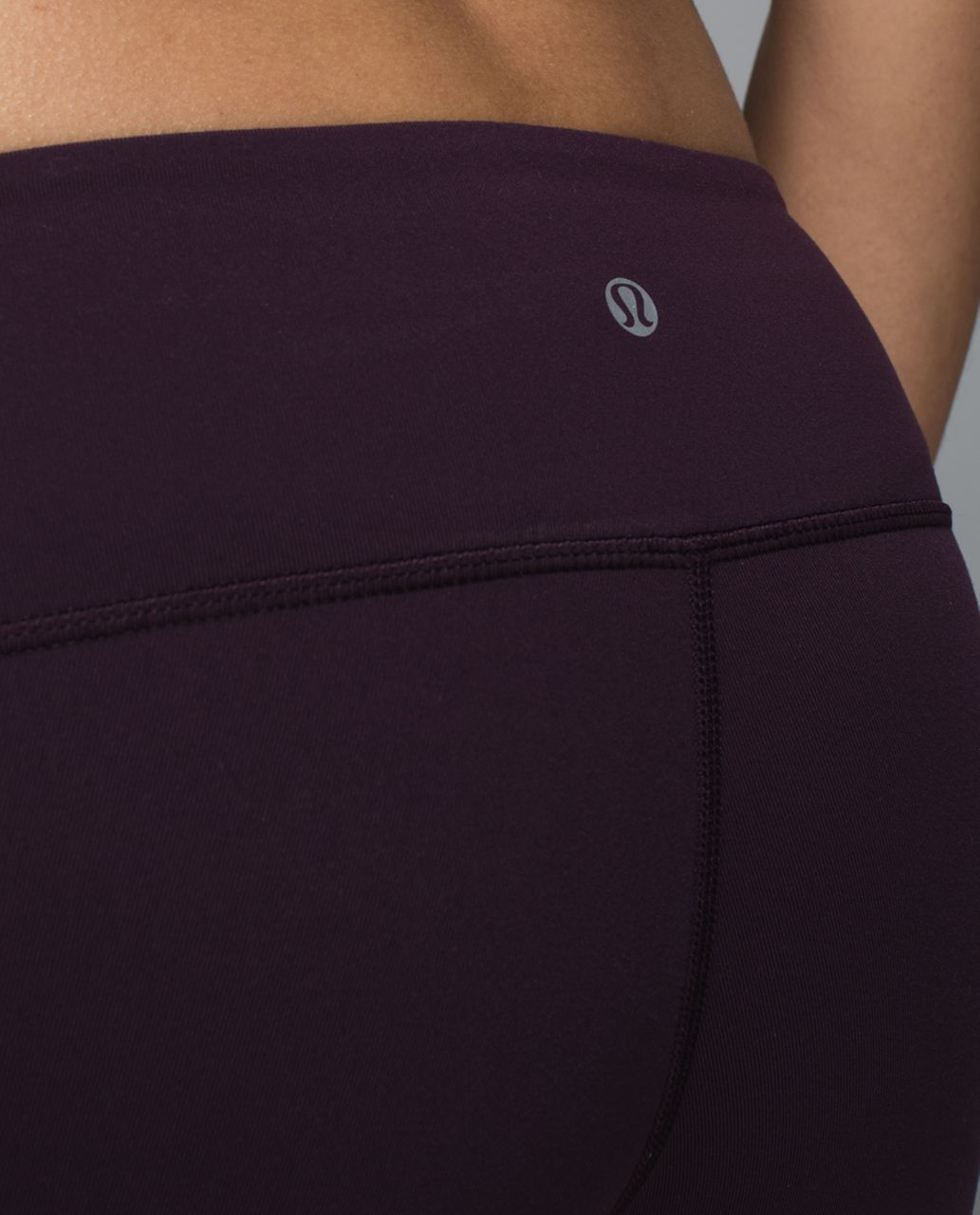Lululemon Wunder Under Pant *Full-On Luon - Black Cherry / Star Crushed Black Cherry Black