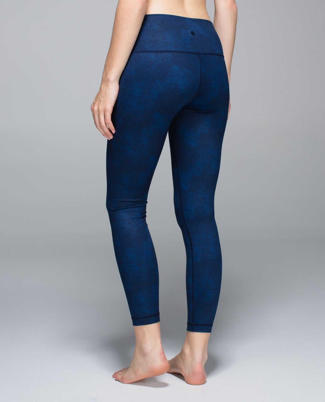 Lululemon High Times Pant - Sashiko Cross Inkwell Rugged Blue