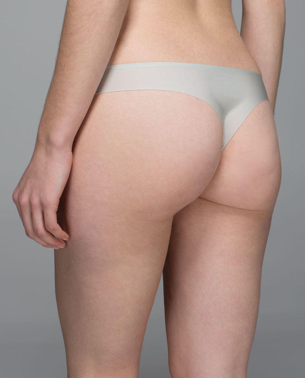 Lululemon Light As Air Thong - Minty Grey