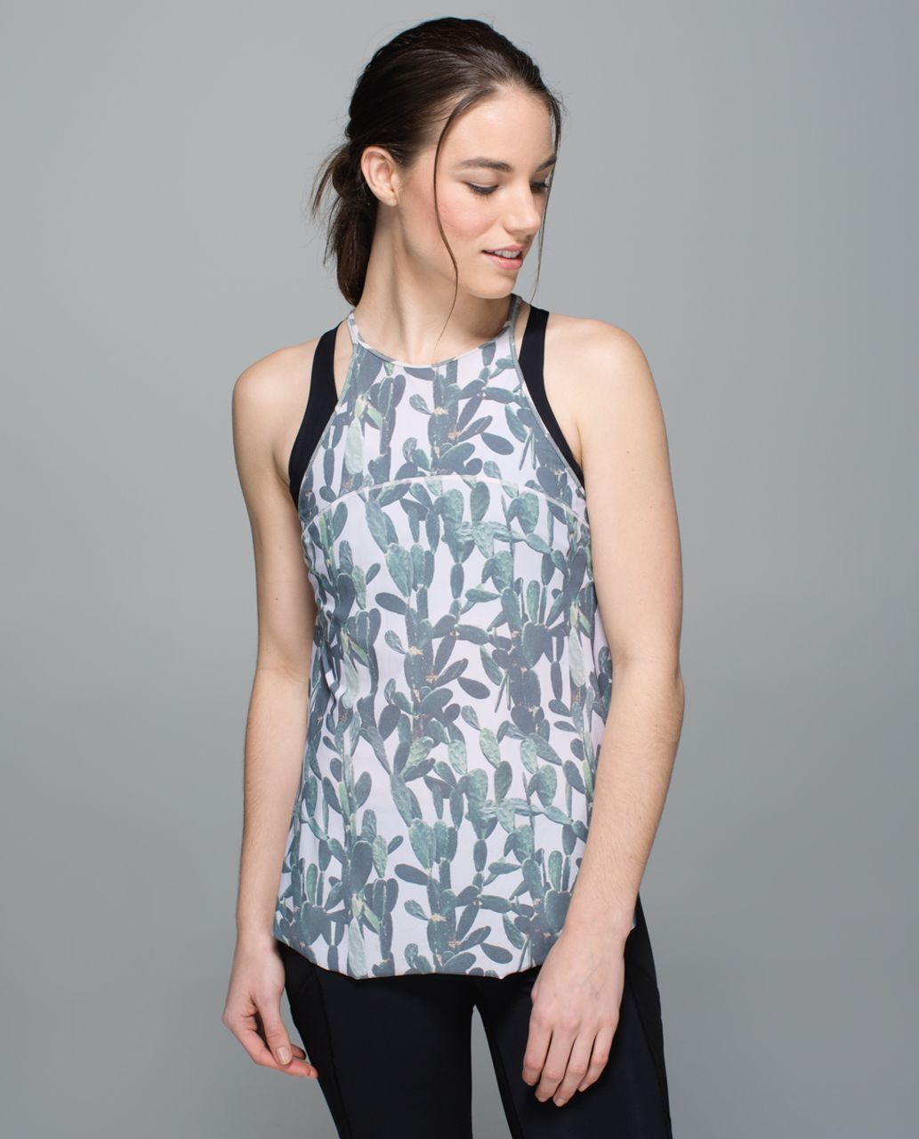 Lululemon Water:  Sea-Me Run Singlet - Mini Prickly Pear Multi