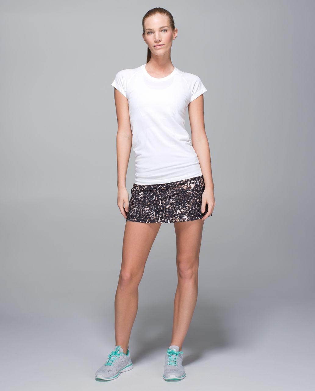 Lululemon Pace Rival Skirt II *4-way Stretch (Tall) - Sugar Crush Multi / Black