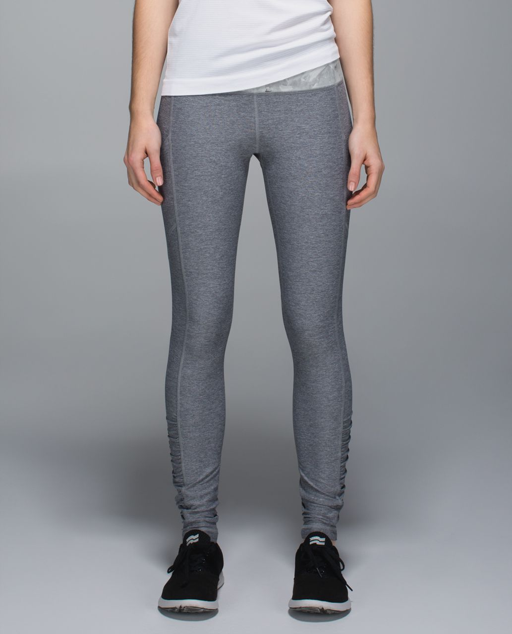 Lululemon Speed Tight III *All Luxtreme - Heathered Slate / Mini Blushed Illusion White Multi