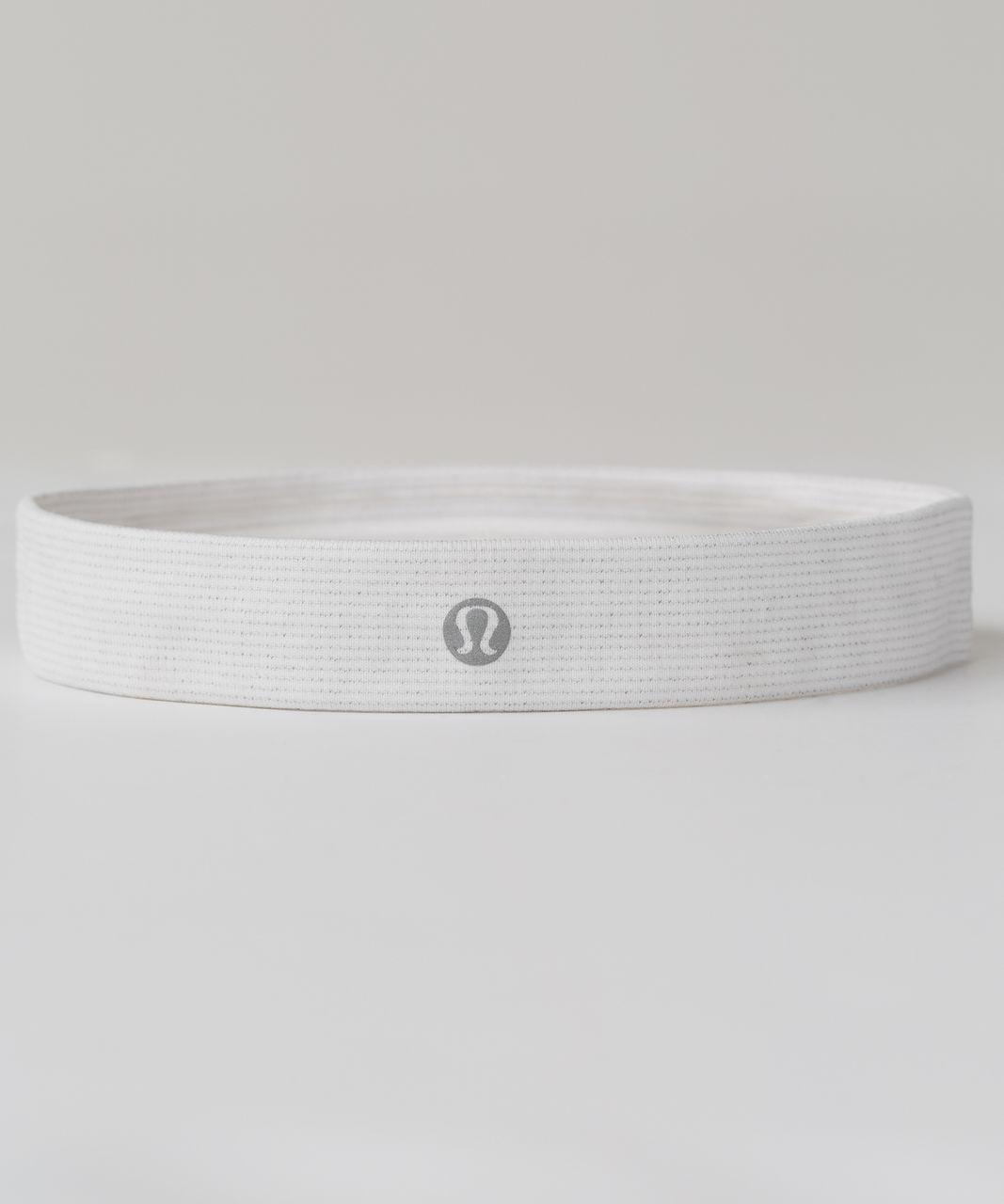 Lululemon Cardio Cross Trainer Headband - Heathered White