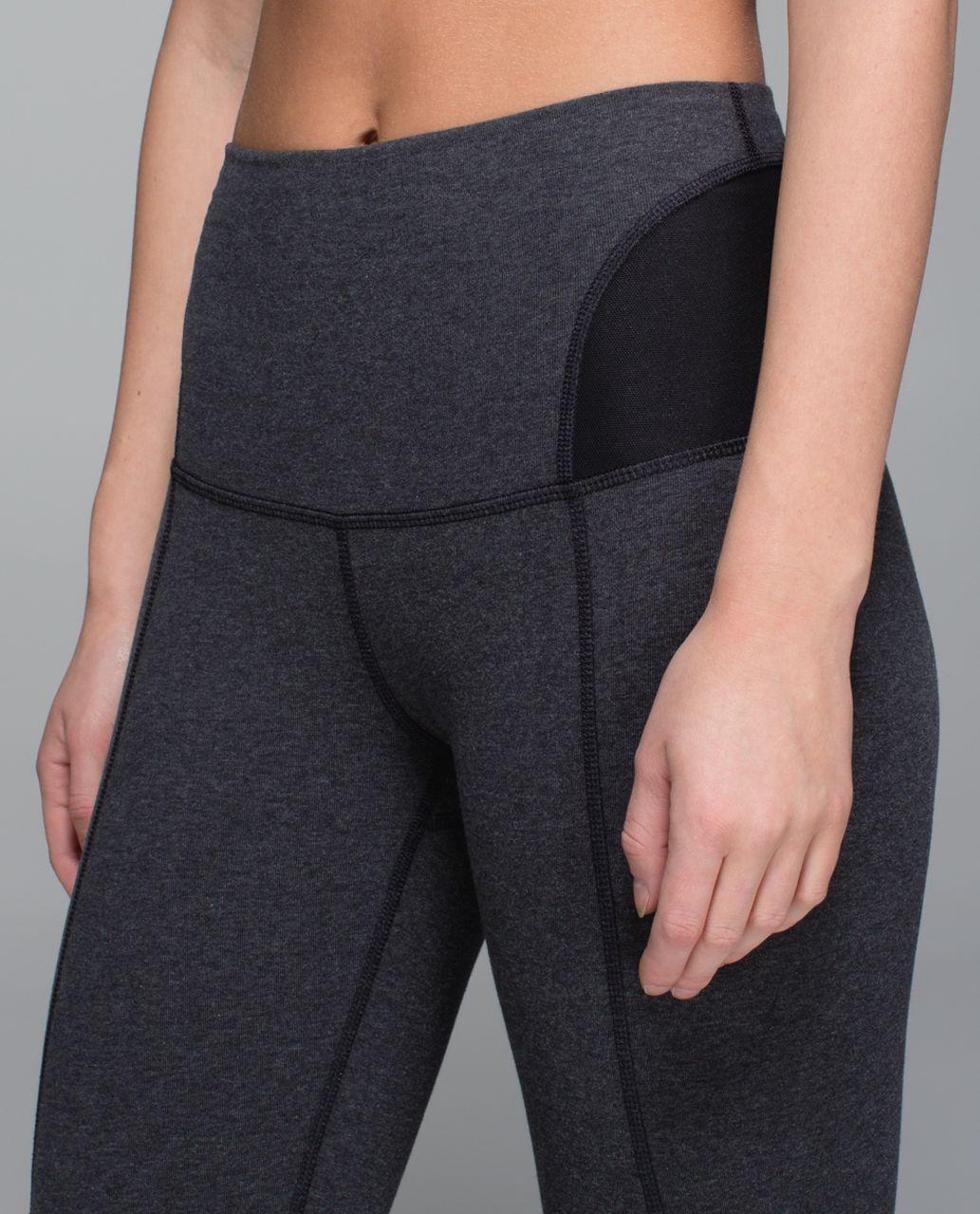 Lululemon Devi Yoga Pant - Heathered Speckled Black   Black - lulu ... 858416104d650