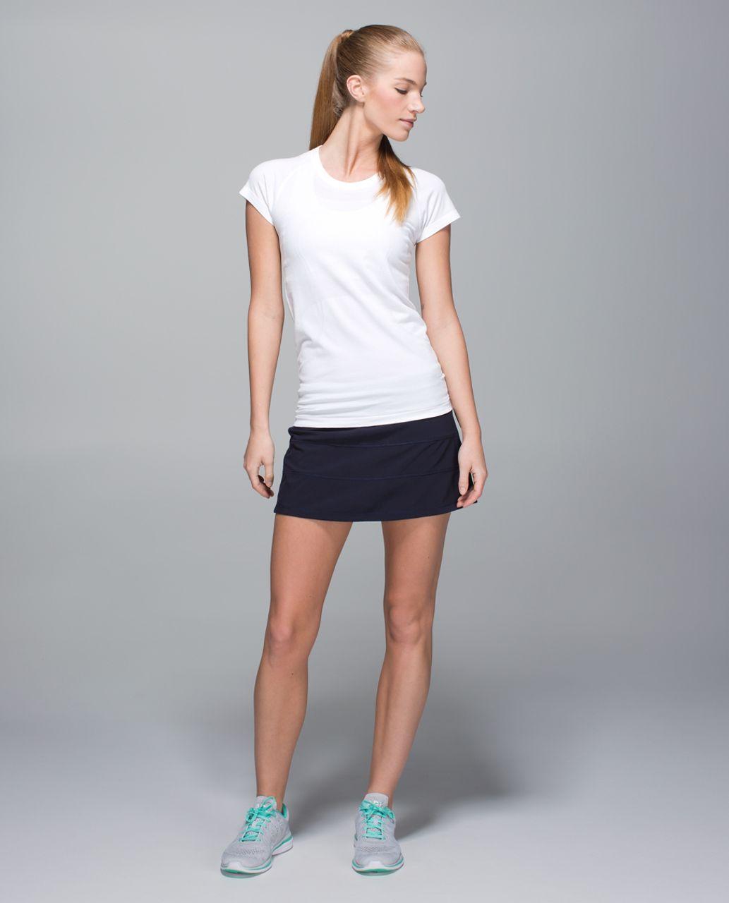 Lululemon Pace Rival Skirt II *4-way Stretch (Regular) - Naval Blue