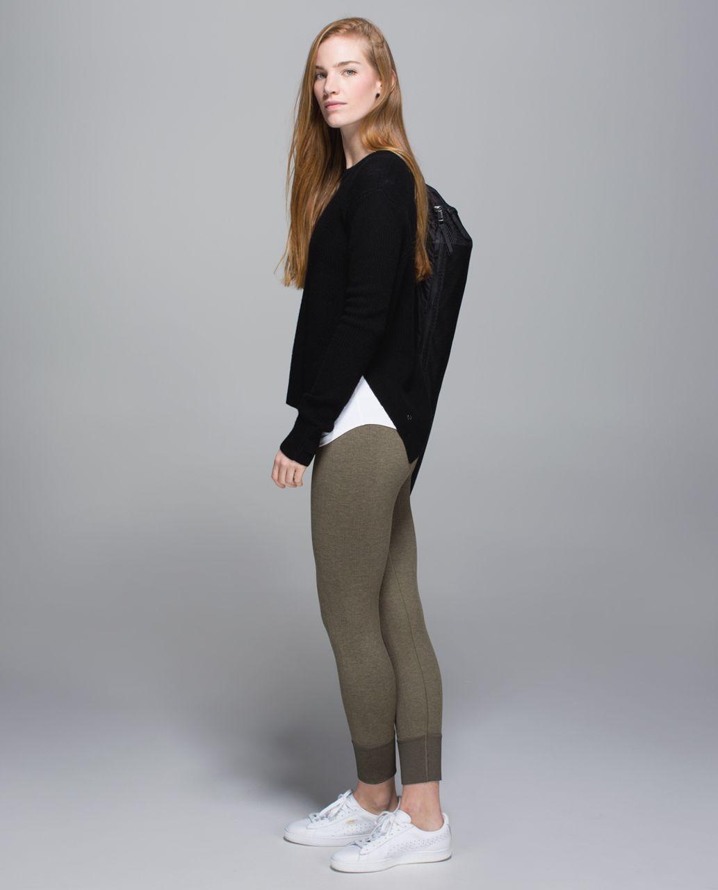 Lululemon Ebb To Street Pant - Heathered Fatigue Green