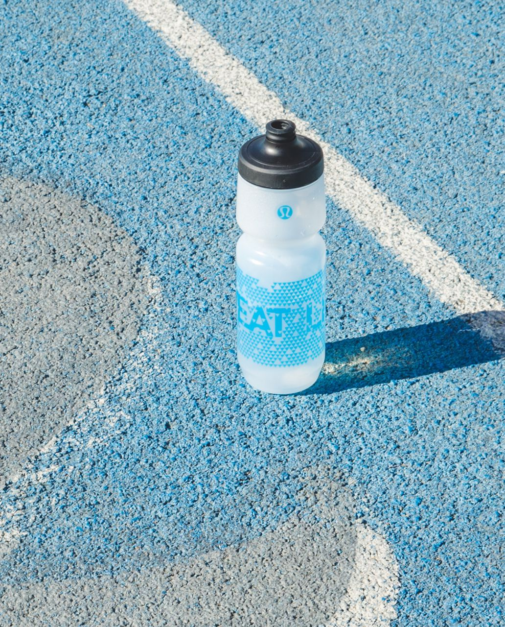 Lululemon Purist Cycling Water Bottle - Sweat Life Kayak Blue Deep Navy