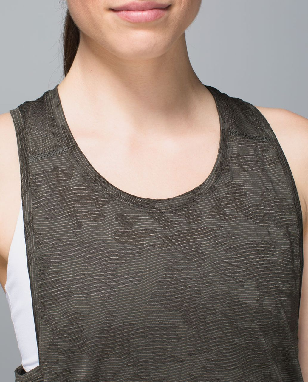 Lululemon Run For Days Tank - Deep Camo