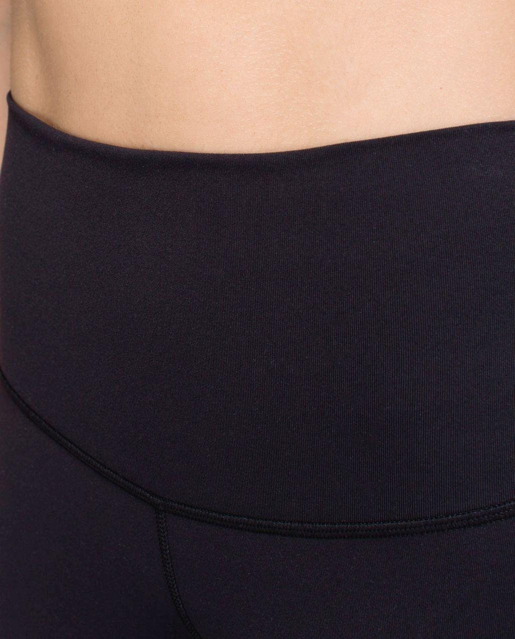 Lululemon Wunder Under Pant *Full-On Luon (Roll Down) - Black
