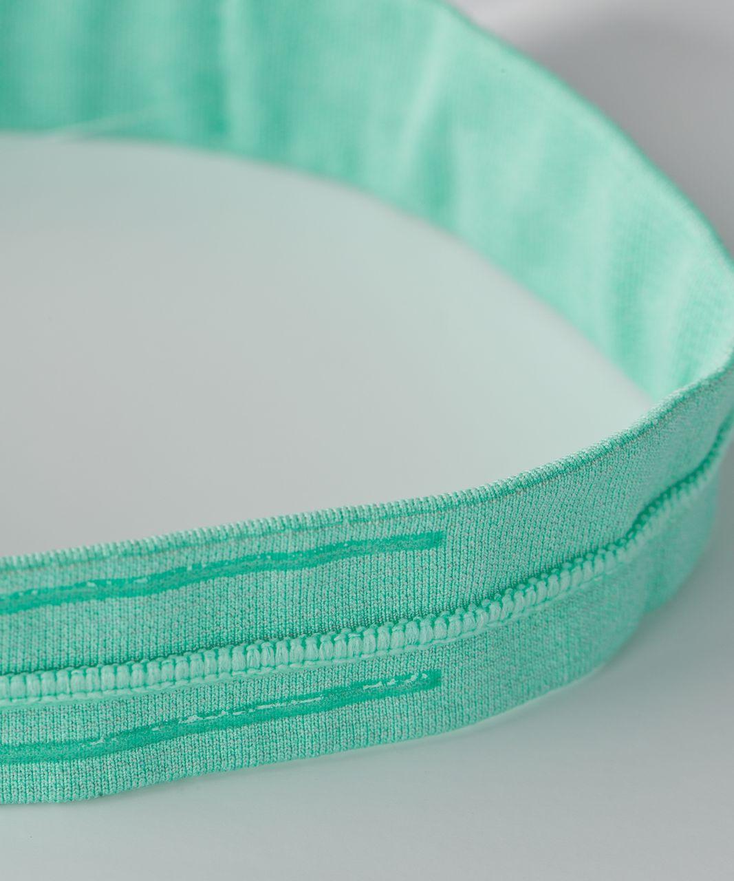 Lululemon Cardio Cross Trainer Headband - Heathered Menthol