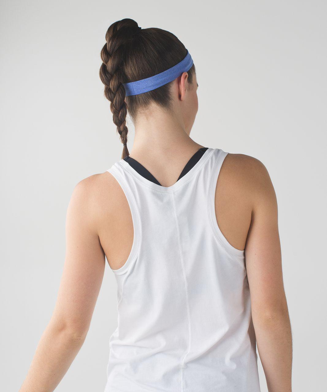 Lululemon Cardio Cross Trainer Headband - Heathered Harbor Blue