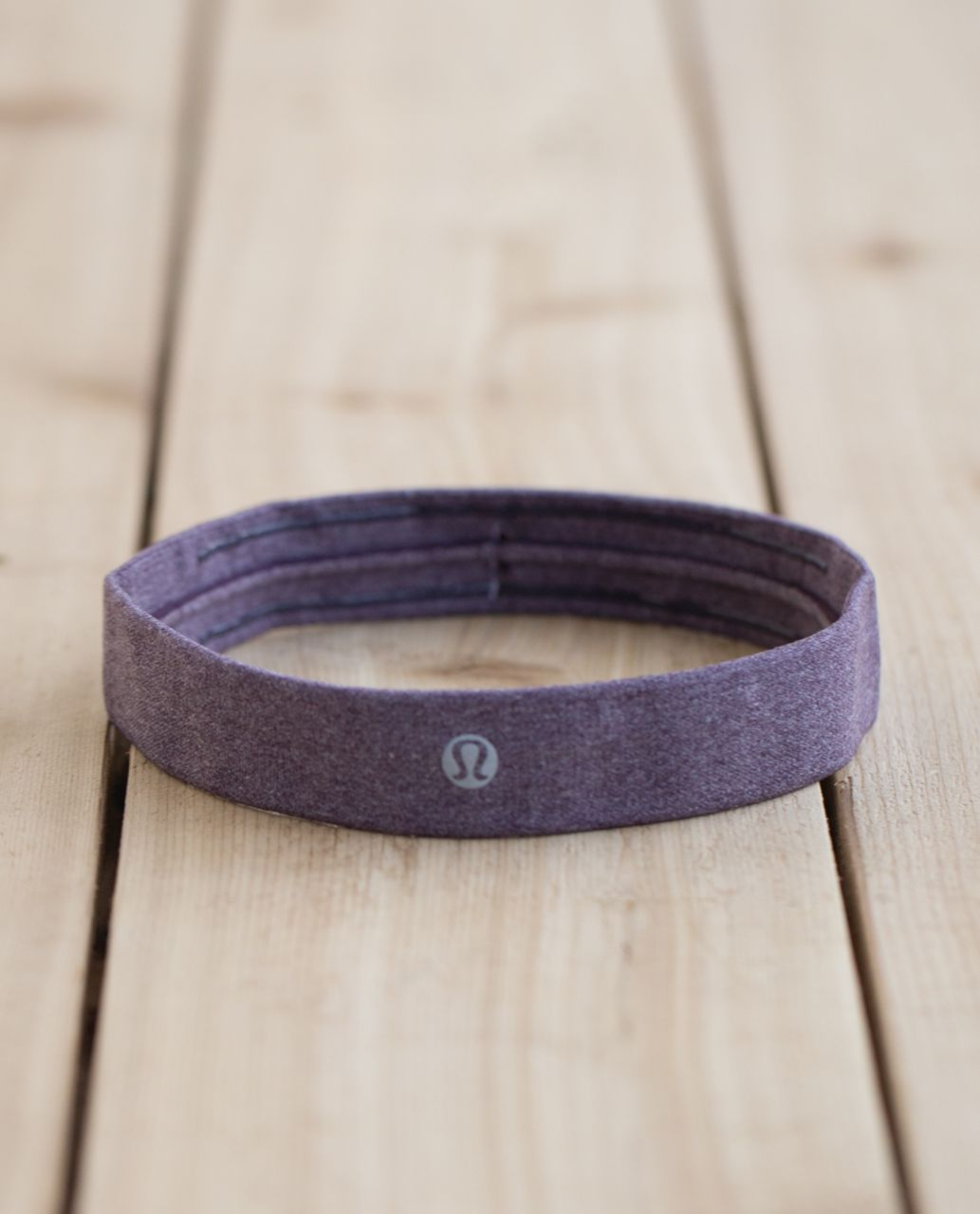 Lululemon Cardio Cross Trainer Headband - Heathered Black Cherry