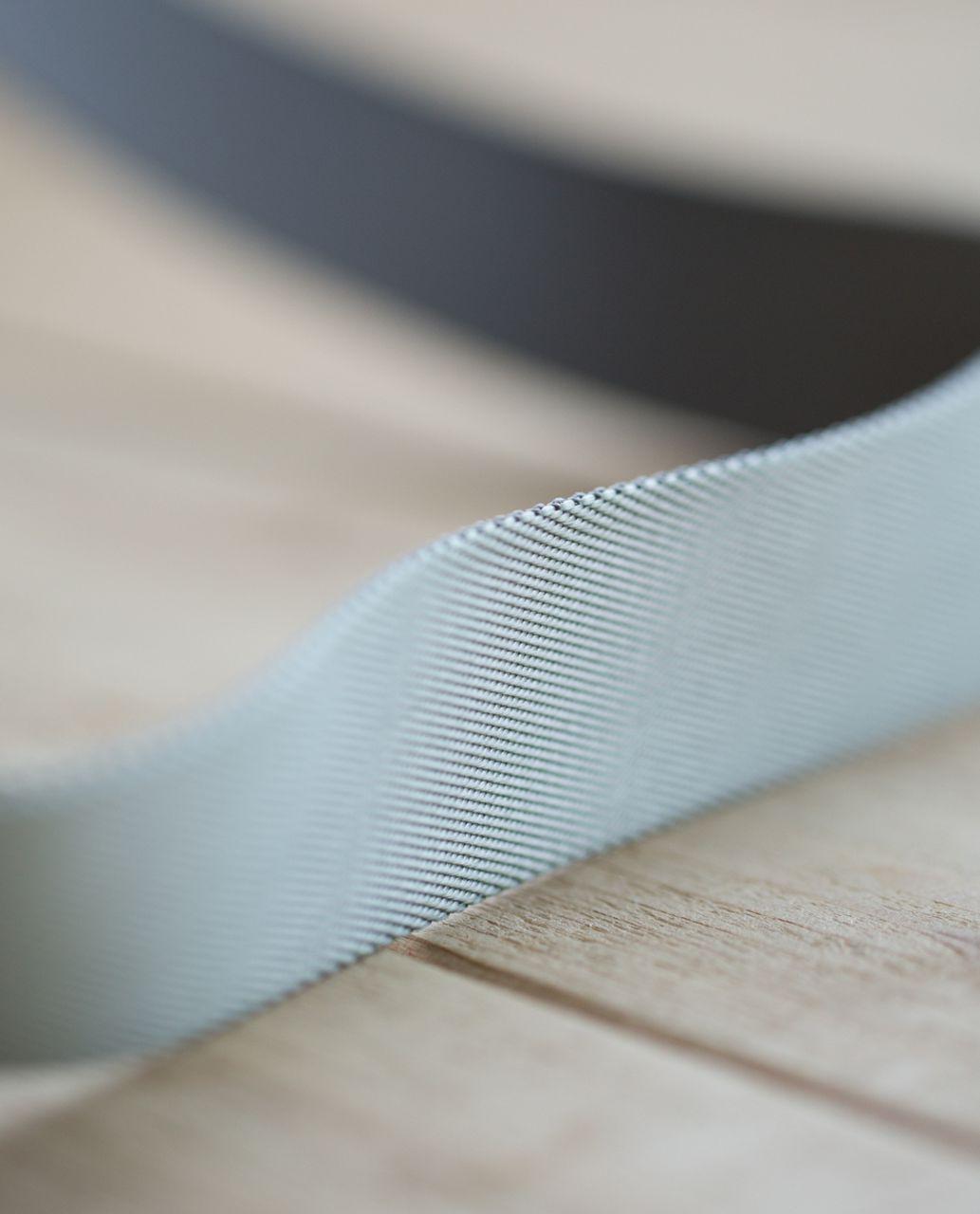 Lululemon Loop It Up Mat Strap - Minty Grey / Earl Grey (First Release)