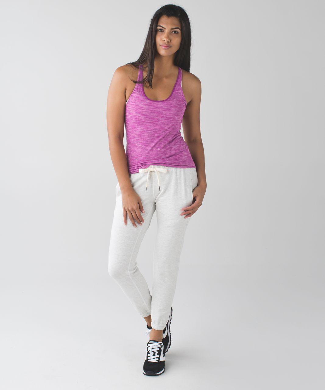 Lululemon What The Sport Singlet - Heathered Regal Plum