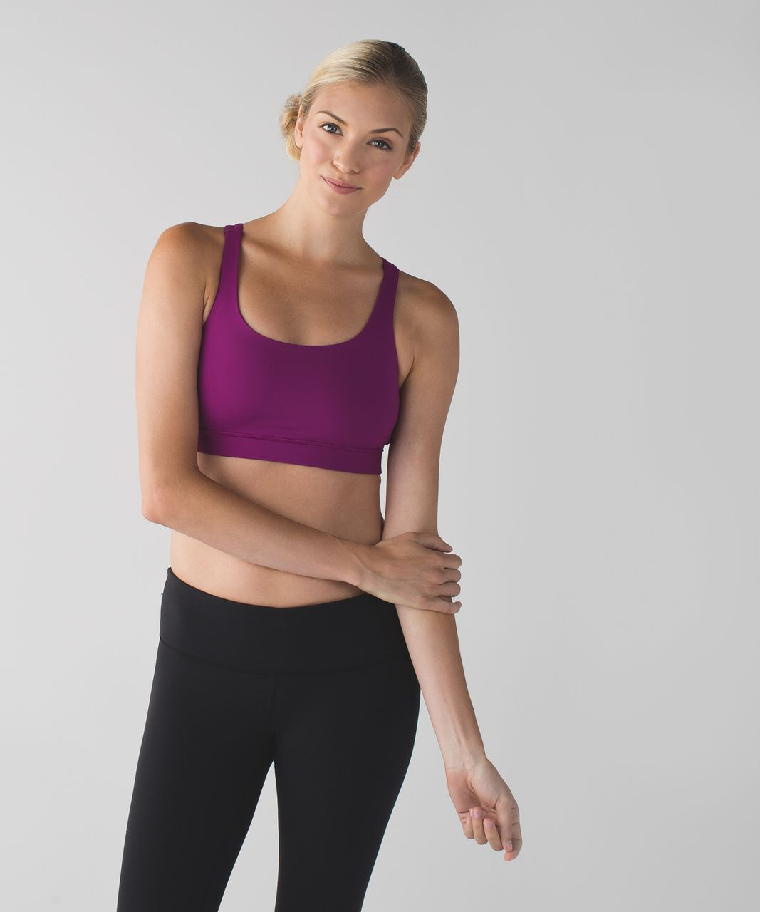 Lululemon Energy Bra - Regal Plum