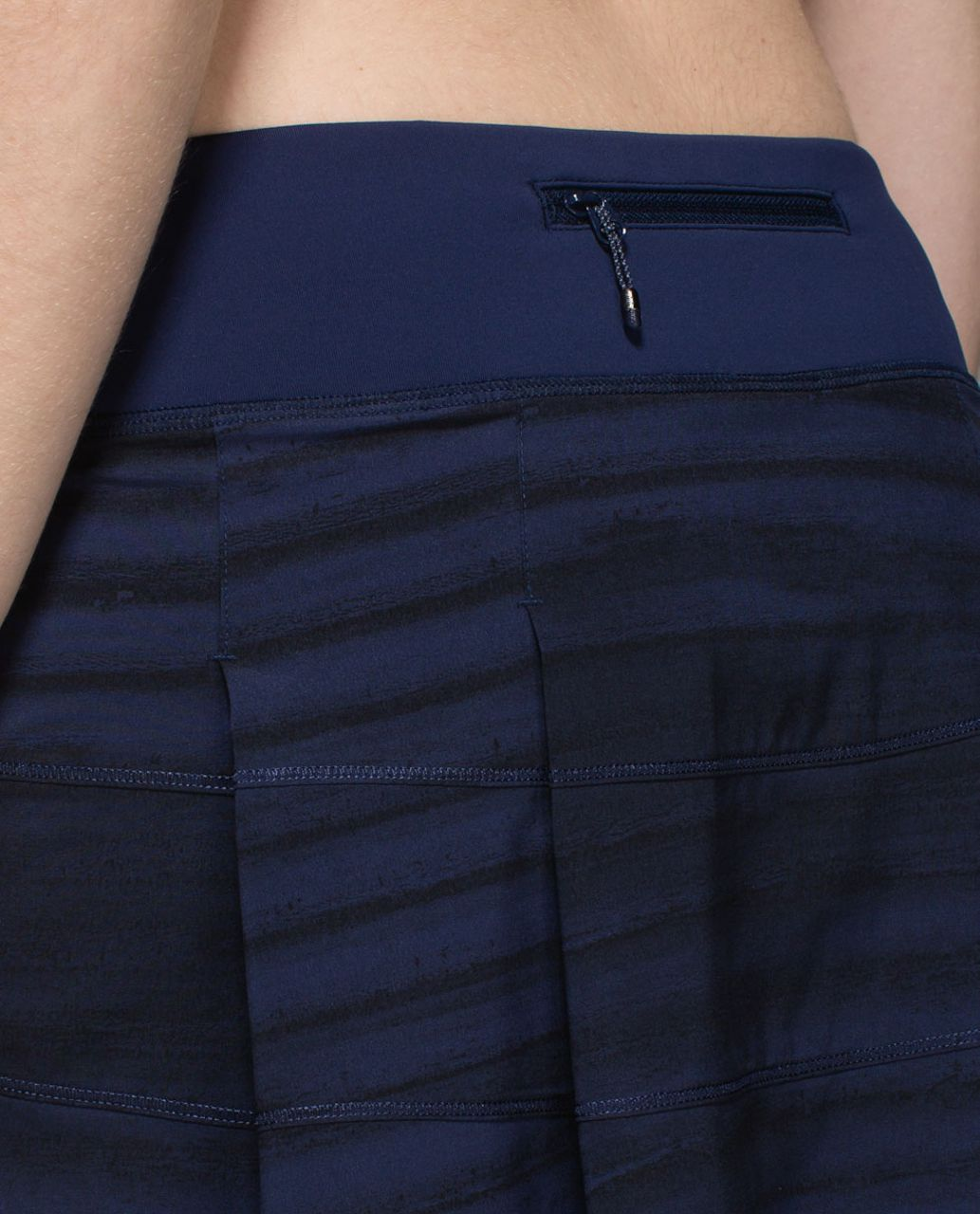 Lululemon Pace Rival Skirt II *4-way Stretch (Regular) - Good Vibes Deep Navy Black / Deep Navy