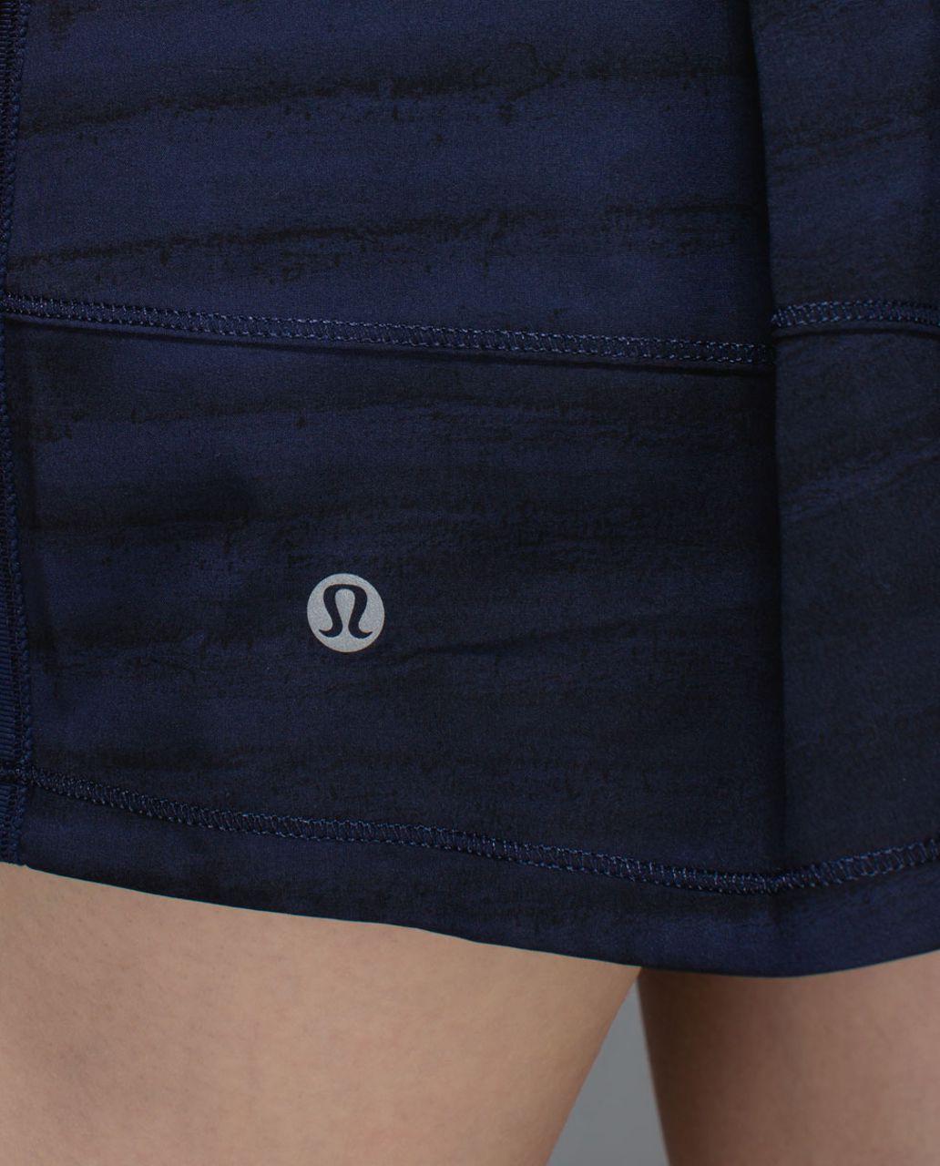 Lululemon Pace Rival Skirt II *4-way Stretch (Tall) - Good Vibes Deep Navy Black / Deep Navy