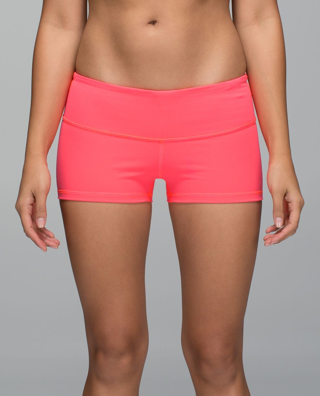 Lululemon Boogie Short *Full-On Luon - Electric Coral